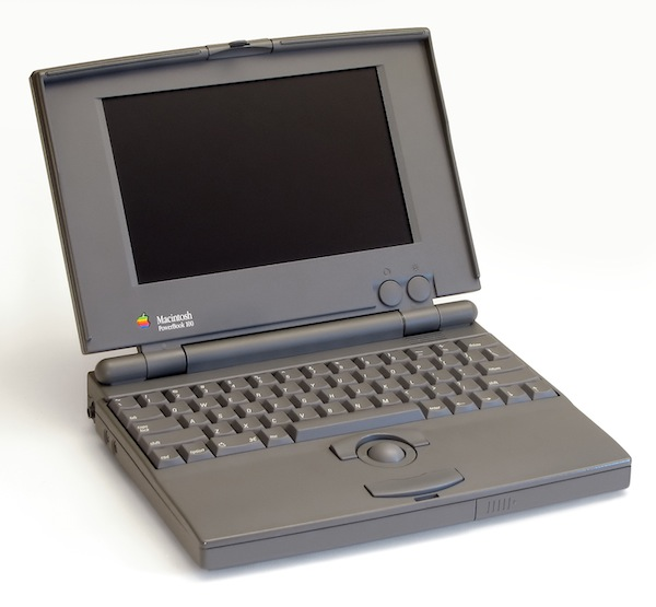Apple Powerbook 100 Notebook Computer
