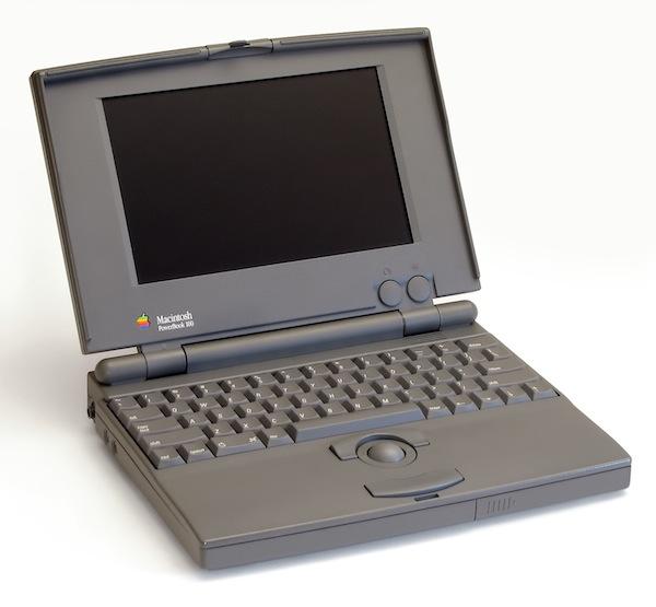 Apple Powerbook 100 Notebook Computer