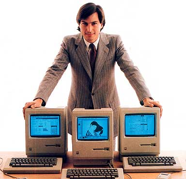 The First Apple Mac Personal Computer
